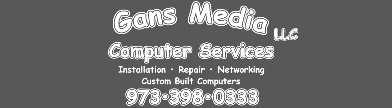 Gans Media Computer Services Logo